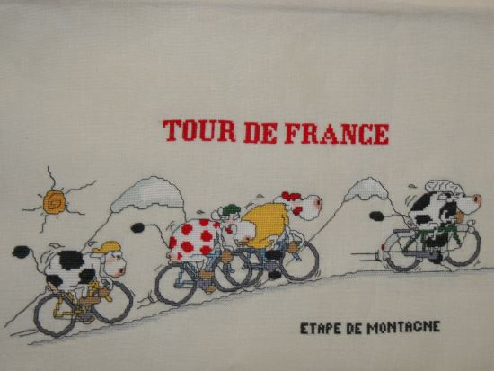 vache et tour de france