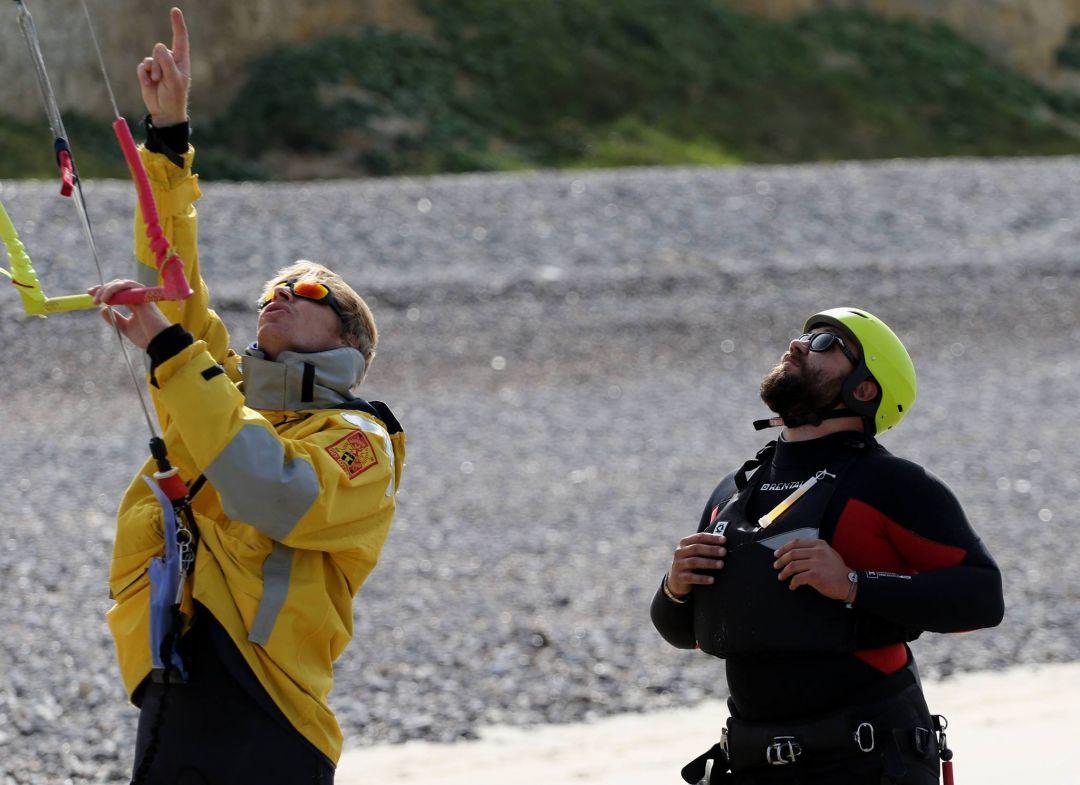 Saint Aubin Sur Mer Kitesurf Planche A Voile Et Activites Nautiques